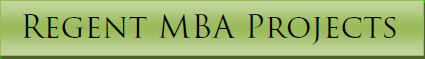 MBA Projects, MBA project help